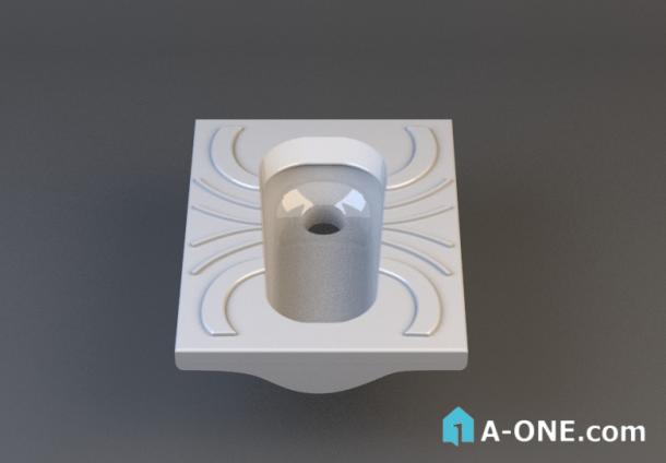 دانلود آبجکت 3d max توالت ایرانی با نور و متریال آبجکت ۳D توالت ایرانی پارس سرام با نور ومتریال                                                        610x424