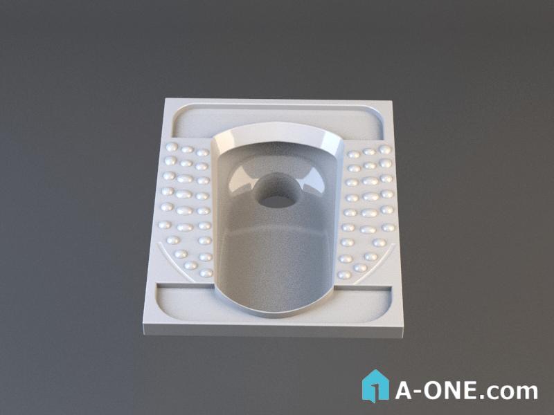 توالت ایرانی پارس سرام خورشید طبی