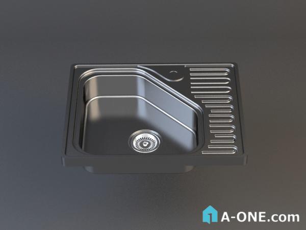 دانلود آبجکت 3d max سینک آشپزخانه با نور و متریال آبجکت ۳D سینک آشپزخانه استیل البرز با نور و متریال                                           1 600x450