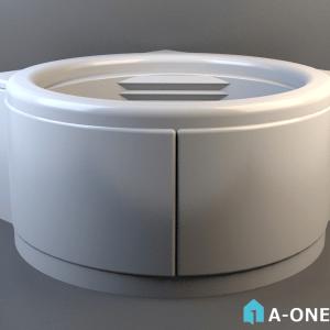 وان حمام حمام پرشین آبجکت 3d وان حمام پرشین با نور و متریال آبجکت ۳D وان حمام پرشین با نور و متریال