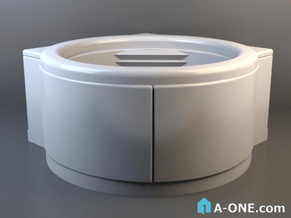 آبجکت 3d وان حمام پرشین با نور و متریال آبجکت ۳D وان حمام پرشین با نور و متریال                                     600x450