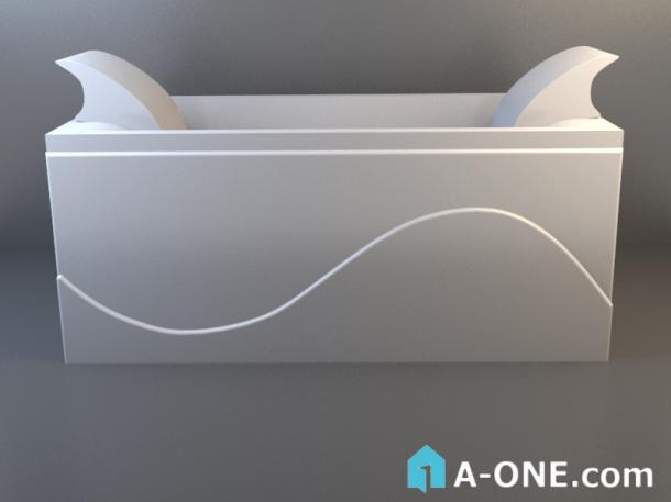 آبجکت 3d وان حمام پرشین با نور و متریال آبجکت ۳D وان حمام پرشین با نور و متریال                           1 610x457
