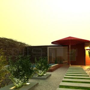 ۱ (۴) طراحی داخلی و طراحی محوطه ویلای مسکونی طراحی داخلی و طراحی محوطه ویلای مسکونی 1 41