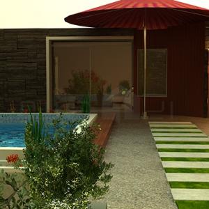 ۲ (۲) طراحی داخلی و طراحی محوطه ویلای مسکونی طراحی داخلی و طراحی محوطه ویلای مسکونی 2 21