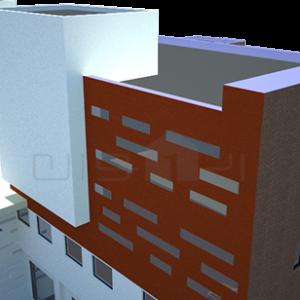 ۲ طراحی ساختمان اداری دانشگاه آزاد اسلامی طراحی ساختمان اداری دانشگاه آزاد اسلامی 213