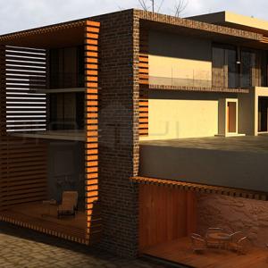 ۴ طراحی معماری و طراحی داخلی ویلای مسکونی طراحی معماری و طراحی داخلی ویلای مسکونی 411