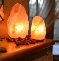 ۲  چراغ نمکی کوه های هیمالیا- سایز کوچک 2