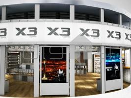 ۲ طراحی غرفه فروشگاه x3 طراحی غرفه فروشگاه x3 2 5  t