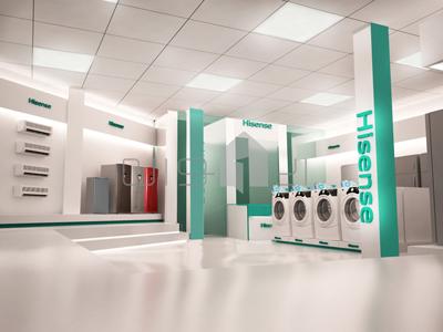 ۳  طراحی فروشگاه هایسنس 3 400x300 t