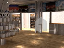 ۴ طراحی غرفه فروشگاه x3 طراحی غرفه فروشگاه x3 4 5  t