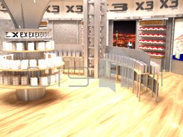 ۶ طراحی غرفه فروشگاه x3 طراحی غرفه فروشگاه x3 6 3  t