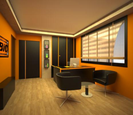 طراحی داخلی لابی دفتر مرکزی شرکت بیک فضای سبز فضای سبز biclobby2  1