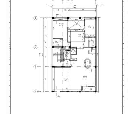 ساختمان مسکونی ۵ واحدی نیلوفر معماری و طراحی داخلی ایوان معماری و طراحی داخلی ایوان c 001  1