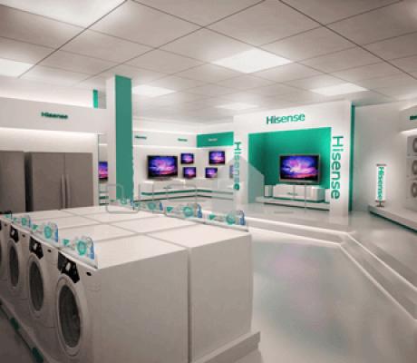 طراحی فروشگاه هایسنس