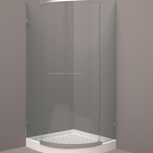 آبجکت ۳D دور دوشی با نور و متریال
