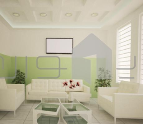 طراحی داخلی بخشی از فضاهای مجتمع آموزشی