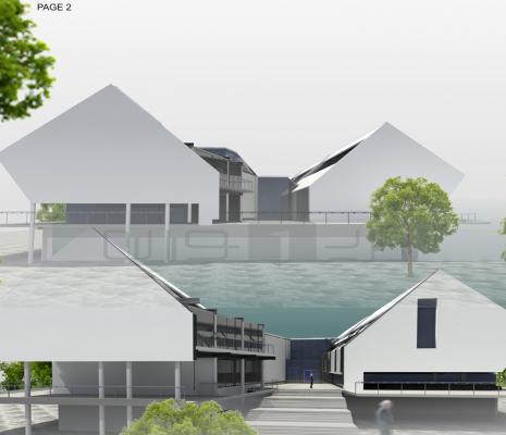 مسابقه طراحی معماری الگوی ساختمان دانشکده های شعب واحد علوم و تحقیقات